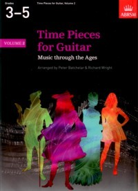 Time Pieces for Guitar Vol.2(Batchelar/Wright) available at Guitar Notes.