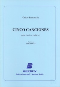 Cinco Canciones available at Guitar Notes.