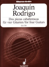 Dos piezas caballarescas(Jermer) available at Guitar Notes.