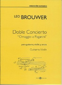 Doble Concierto [Gtr & Vn] available at Guitar Notes.