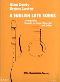 8 English Lute Songs [DESC] available at Guitar Notes.