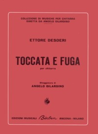 Toccata e fuga(Gilardino) available at Guitar Notes.