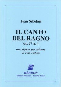 Il Canto del Ragno, op.27/5 (Putilin) available at Guitar Notes.