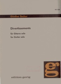 Divertissements available at Guitar Notes.