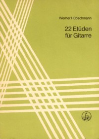 22 Etuden(Henze) available at Guitar Notes.