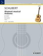 Moment musical & Andante(Gotze) available at Guitar Notes.