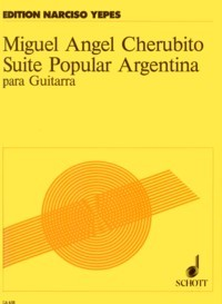 Suite Popular Argentina(Yepes) available at Guitar Notes.