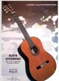 Suite Livorno(Aussel)  available at Guitar Notes.