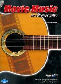 Movie Music for Classical Guitar available at Guitar Notes.