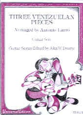 Three Venezuelan Pieces(Duarte) available at Guitar Notes.