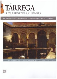 Recuerdos de la Alhambra (Tennant) available at Guitar Notes.