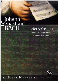Cello Suites no.1-3 (Koonce) available at Guitar Notes.