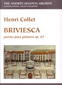 Briviesca, op.67(Gilardino/Biscaldi) available at Guitar Notes.