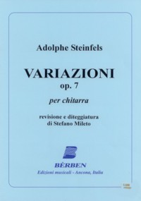 Variazioni, op.7 (Mileto) available at Guitar Notes.