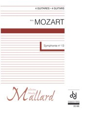 Symphony no.13(Mallard) available at Guitar Notes.