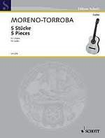 Five Pieces available at Guitar Notes.