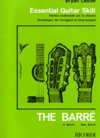 Essental Guitar Skills: The Barre available at Guitar Notes.