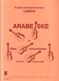 Arabesque(Ratzkowski) available at Guitar Notes.