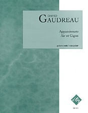 Appassionato; Air et Gigue available at Guitar Notes.