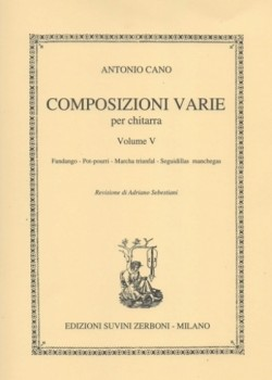 Composizioni varie Vol.5(Sebastiani) available at Guitar Notes.