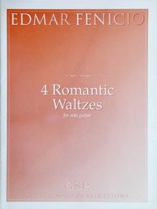 4 Romantic Waltzes available at Guitar Notes.