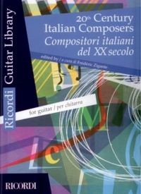 20th Century Italian Composers available at Guitar Notes.