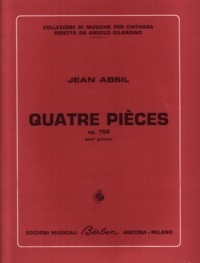 Quatre Pieces, op.150 available at Guitar Notes.