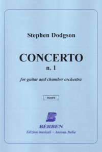 Concerto no.1 [Score] available at Guitar Notes.