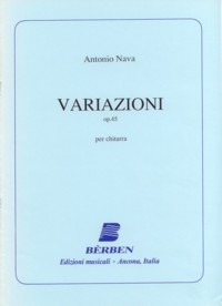 Variazioni, op.45(Agostinelli/Rossini) available at Guitar Notes.