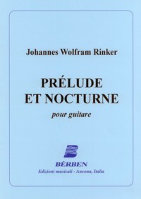 Prelude et Nocturne available at Guitar Notes.