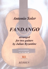 Fandango(Byzantine) available at Guitar Notes.