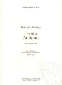 Tiento Antiguo(Behrend) available at Guitar Notes.