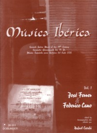 Musica Iberica, Vol.1: Ferrer & Cano available at Guitar Notes.