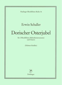 Dorischer Osterjubel [2Rec/Gtr] available at Guitar Notes.