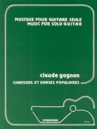 Chansons & Danses Populaires available at Guitar Notes.