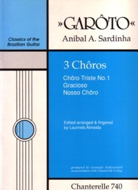 Three Choros available at Guitar Notes.