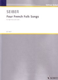 Four French Folksongs [Hi Voc] available at Guitar Notes.