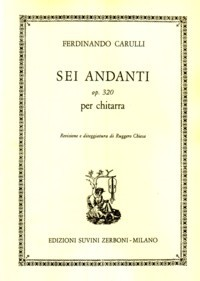 Sei Andanti, op.320(Chiesa) available at Guitar Notes.