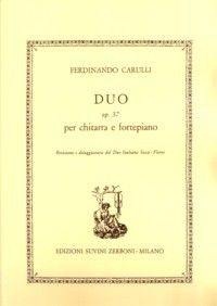 Duo, op.37(Fleres/Sicca) available at Guitar Notes.
