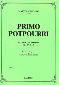Primo Potpourri di Rossini op.13/1 available at Guitar Notes.