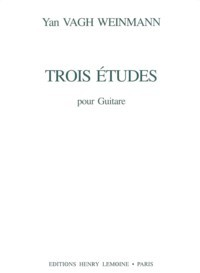 Trois Etudes available at Guitar Notes.
