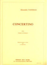 Concertino [score] available at Guitar Notes.