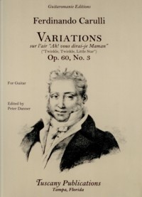 Variations, op.60/3(Danner) available at Guitar Notes.