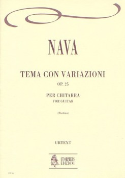 Tema con variazioni, op.25(Martino) available at Guitar Notes.