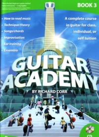 Guitar Academy, Book 3 available at Guitar Notes.