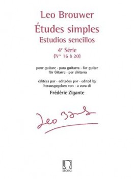 Etudes simples Series 4(Zigante) available at Guitar Notes.