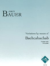 Variations by means of Bachcabachab available at Guitar Notes.