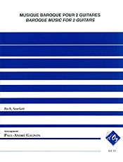 Baroque Music for Two Guitars available at Guitar Notes.