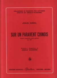 Sur un paravent chinois, op.147 available at Guitar Notes.