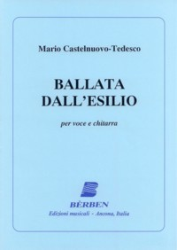 Ballata dall'esilio available at Guitar Notes.